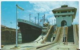Panama - Gatun Locks - Panama Canal - 1973 - Panama