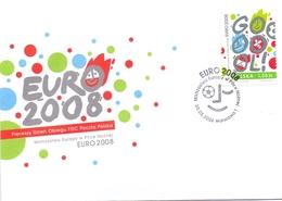 EURO 2008 POLAND  COVER (NOV180005) - Europa-CEPT