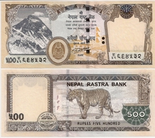 NEPAL       500 Rupees       P-New       2016 / BS 2073 (2018)      UNC  [ Sign. 20 ] - Népal