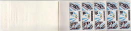 Czechoslovakia MNH Booklet With Olympic Games Stamps - Winter 1992: Albertville