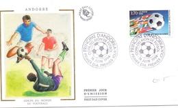 ANDORRE COUPE DU MONDE DE FOOTBALL COVER (NOV180005) - World Cup