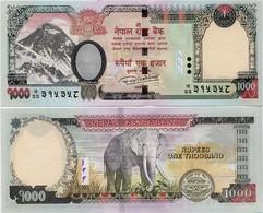 NEPAL       1000 Rupees       P-75[b]       2016 / BS 2073 (2017)      UNC  [ Sign. 20 ] - Nepal