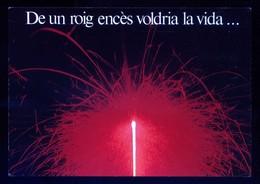 *De Un Roig Encès Voldria La Vida. Bon Any* Sin Datos. Nueva. - Año Nuevo