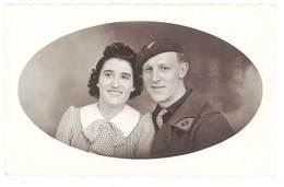 Photo Couple, Soldat Du 69e Régiment - Guerre, Militaire
