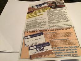 Publicité Carte Bleue Visa Avec La Carte Bleue De La Banque Nationale De Paris Vous Pouvez Même Faire Vos Courses Sans A - Werbung