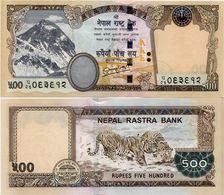 NEPAL       500 Rupees       P-74       2012 / BS 2069 (2013)      UNC  [ Sign. 19 ] - Népal