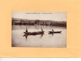 E0811 - PALADRU Les BAINS - D38 - La Pêche Sur Le Lac - Paladru