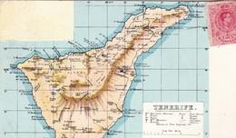 CARTE DE TENERIFE / CIRC 1911 - Tenerife