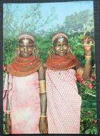 AFRIQUE,AFRICA,KENIA,réserve Nationale SAMBURU,SAMBURU GIRLS - Kenya