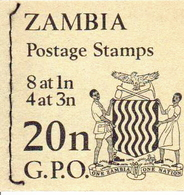 Zambia MNH Booklet Of 20n From 1968 - Zambia (1965-...)