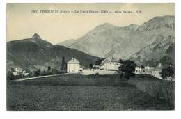 CPA 38 TREMINIS LE PETIT OBIOU ET LE RATIER - France