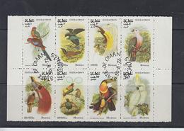 OMAN 1975 - Uccelli - 8 Valori - Oman