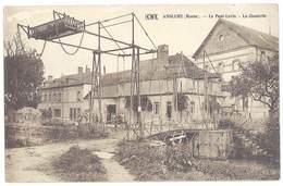 Cpa Anglure - Le Pont-Levis - La Clouterie - Anglure