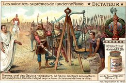 LIEBIG LES AUTORITES SUPREMES DE L ANCIENNE ROME  DICTATEUR - Liebig