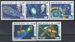 Republique De Côte D'Ivoire  Yv PA 103/7, Passage De La Comète De Halley  ** Mnh - Astrologie