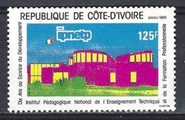 Cote D'Ivoire  Yv 760  Enseignement Technique (IPNETP ) ** Mnh - Côte D'Ivoire (1960-...)