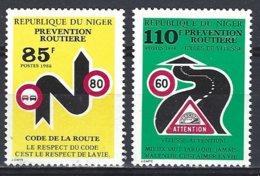 Niger Yv  708/9 Prevention Routière ** Mnh - Niger (1960-...)