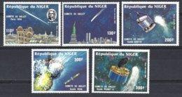 Republique Du Niger  Yv PA 343/7, Passage De La Comète De Halley  ** Mnh - Astrologie