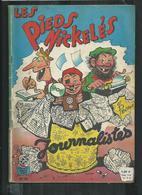 Les Pieds Nickelés Journalistes  No 49 De 1962 - Bücher, Zeitschriften, Comics