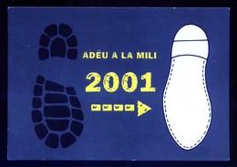 Catalunya. *Adeu A La Mili* Ed. C.i U. - JNC, Año 2001. Nueva. - Publicidad