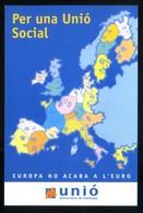 Catalunya. *Per Una Unió Social* Ed. Unió. Nueva. - Publicidad