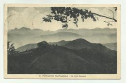 S.PELLEGRINO GARFAGNANA - LE ALPI APUANE 1924 VIAGGIATA FP - Lucca