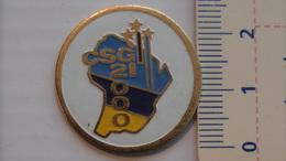 PIN'S - ESPACE - PROJET CSG 2000 - CENTRE SPATIAL GUYANAIS - Space