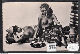 4113 NU AK PC CARTE PHOTO873 SEINS NUS SCENES ET TYPES MAURESQUES PRENANT LE THE TTB - Africa