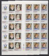 Falkland Islands 1982 21st Birthday Princess Diana 4v 15x  ** Mnh (F7594) - Falklandeilanden