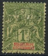 Guadeloupe (1892) N 39 (o) - Oblitérés