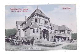 NIEDER-SCHLESIEN - ZOBTEN / SOBOTKA, Neue Baude, 1909, Belebte Szene - Schlesien