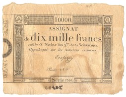 ASSIGNAT DE 10.000 FRANCS 1795 - Assignats & Mandats Territoriaux
