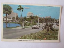 Etats Unis Florida Orlando As Seen From Lake Lucerne - Orlando