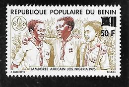 TIMBRE NEUF DU BENIN SURCHARGE EN 1979 N° MICHEL C 198 COTE 100 € - Bénin – Dahomey (1960-...)