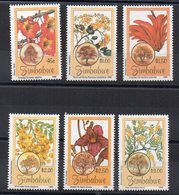 ZIMBABWE - FLEURS - FLOWERS - Série Complète - 1996 - - Zimbabwe (1980-...)