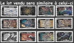 Série Complète France 2018 - Thomas Pesquet - La Terre Vue De La Station Spatiale (lot Vendu Sera Similaire à Celui-ci). - France