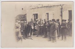 86 - Montmorillon - Carte Photo - Petit Séminaire, Arrestation Du Marquis Augier De Moussac En 1906 - Montmorillon