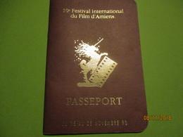 Passeport/ Cinéma/ 10émeFestival International Du Films D'AMIENS/ /1990   CIN84 - Advertising