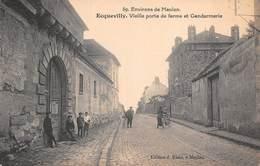 78 - Ecquevilly - Environs De Meulan -  La Gendarmerie - Vieille Porte De Ferme Animée - Meulan