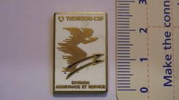 PIN'S - ESPACE - THOMSON-CSF - DIVISION ASSISTANCE ET SERVICE (DAS) - Space