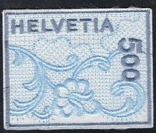 21. Juni 2000 St. Galler Stickerei Michel 1726 Gestempelt Ohne Gummierung - Usados