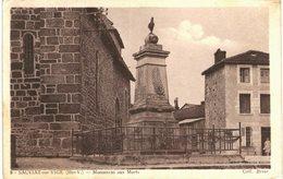 Sauviat Sur Vige Monument Aux Morts - France