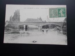 SALORNAY-sur-GUYE Pont D'Angoin 1921 - Frankrijk