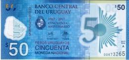 Uruguay  - Pick New - 50 Pesos Uruguayos 2017 - Unc - Commemorative - Uruguay