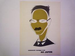 """""""PUB""""  PHARMACEUTIQUE  """"CITROCHOLINE""""    Comment Mange-t-on  AU JAPON   XXX   (format  18 X 24cm) - Advertising"""