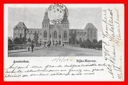 CPA  AMSTERDAM (Pays-Bas)   Rijks-Museum, Animé...CO1547 - Amsterdam