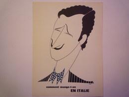 """""""PUB""""  PHARMACEUTIQUE  """"CITROCHOLINE""""    Comment Mange-t-on  EN ITALIE   XXX   (format  18 X 24cm) - Advertising"""