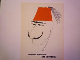 """""""PUB""""  PHARMACEUTIQUE  """"CITROCHOLINE""""    Comment Mange-t-on  EN TURQUIE   XXX   (format  18 X 24cm) - Advertising"""
