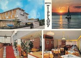 Cartolina Marina Di Massa Hotel Tiffany 4 Vedute - Massa