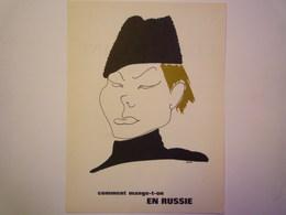 """""""PUB""""  PHARMACEUTIQUE  """"CITROCHOLINE""""    Comment Mange-t-on  EN RUSSIE   XXX   (format  18 X 24cm) - Advertising"""